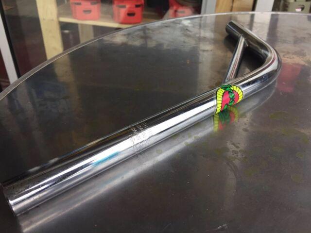 NOS Old School Odyssey BMX Cr-Mo Steel Layback Seat Post