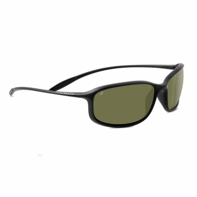 5cf80146cab Serengeti 8204 Sestriere Satin Black Polar PhD 555 Sunglasses for ...