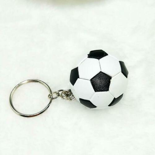 SOCCER BALL KEY CHAIN sport fan collect team ball NOVELTY play keychains new LJ