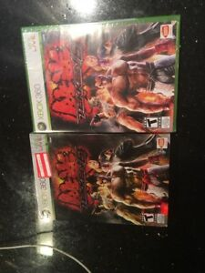 Tekken 6 Xbox 360 Black Label Game Limited Edition Slipcover