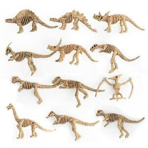 12 PCS Educational Simulated Dinosaur Model Kids Children Toy Dinosaur Gift