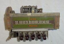 Vintage Antique Firestone Air Chief Radio Dial Mechanism