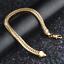 Fashion-18K-Gold-Plated-Fox-Tails-Chain-Bracelet-Bangle-Wristband-Jewelry-6MM thumbnail 5