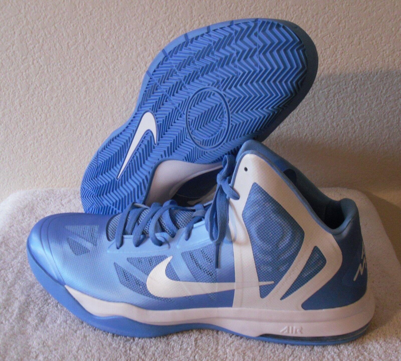 NEW Nike Air Max Hyper Aggressor TB Mens Basketball shoes 17.5 bluee White  110