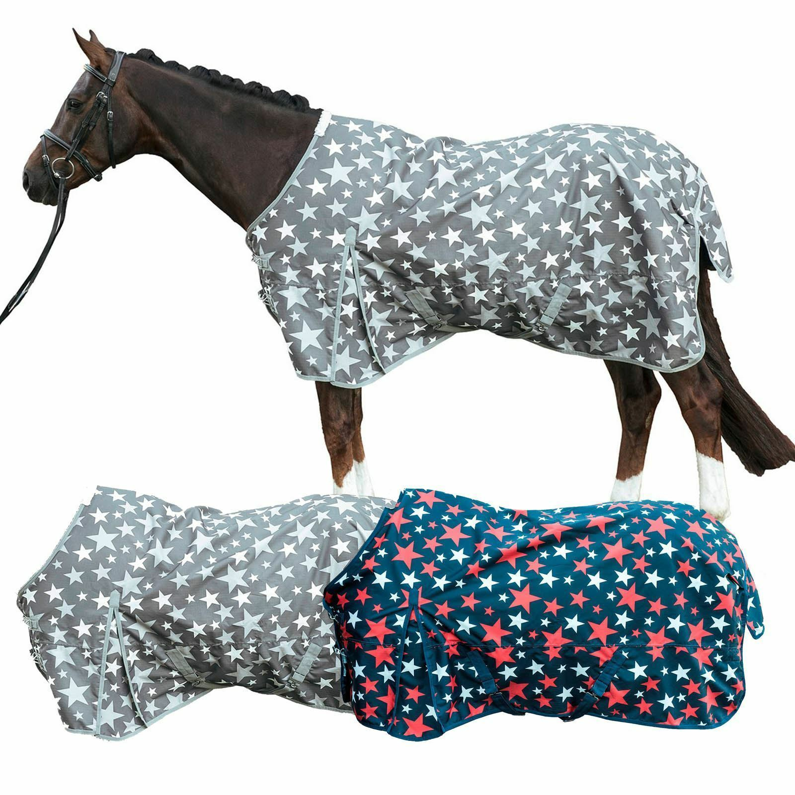 HKM Rain BlanketStar 600D Lightweight  Waterproof Long Horse Predection Blanket  sale with high discount