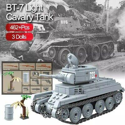 Lego ww2 Tank KV-1 Panzer Allemand Véhicule Militaire Jouet Construction russian