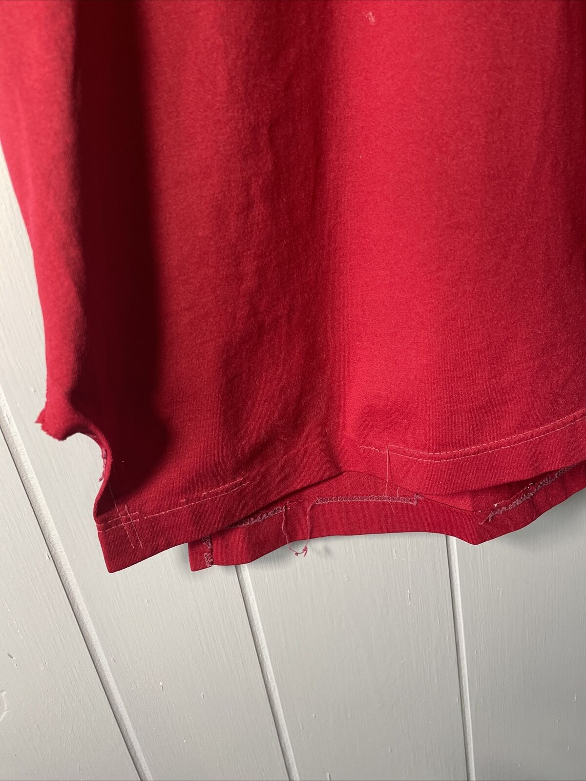 VTG 70's Russell Athletic Red Football Jersey #21… - image 2
