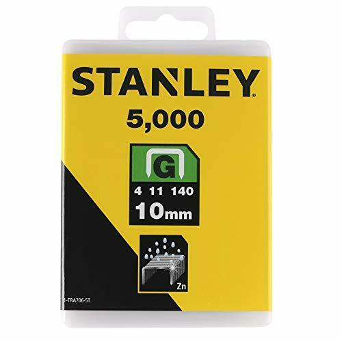 Stanley 1-TRA706-5T 10 mm G-Type Heavy Duty Staples 5000 pièces
