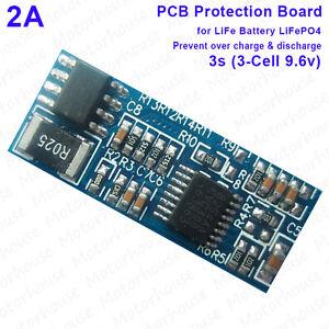 3S 20A 9.6V 10.8V LiFePO 4 18650 Cargador De Batería circuito de protección de PCB Board BMS