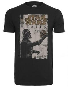 Encolure Homme Merchcode Femme Contes Vader shirt Ronde Wars Star Jersey T Darth qSS6t7