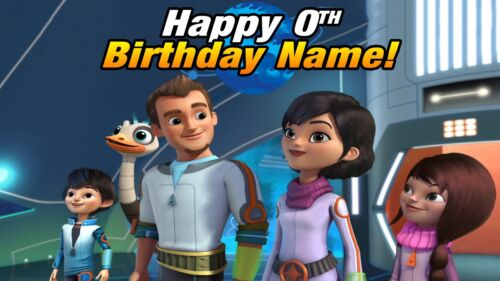Miles from Tomorrowland Edible Cake Toppers picture sugar paper birthday custom
