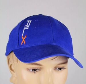 6c9bd3a8524af Image is loading Ralph-Lauren-RLX-Sport-Blue-Baseball-Ball-Cap-