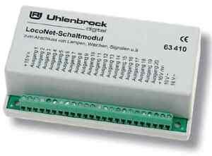 Uhlenbrock-63410-LocoNet-Schaltmodul-Neuware