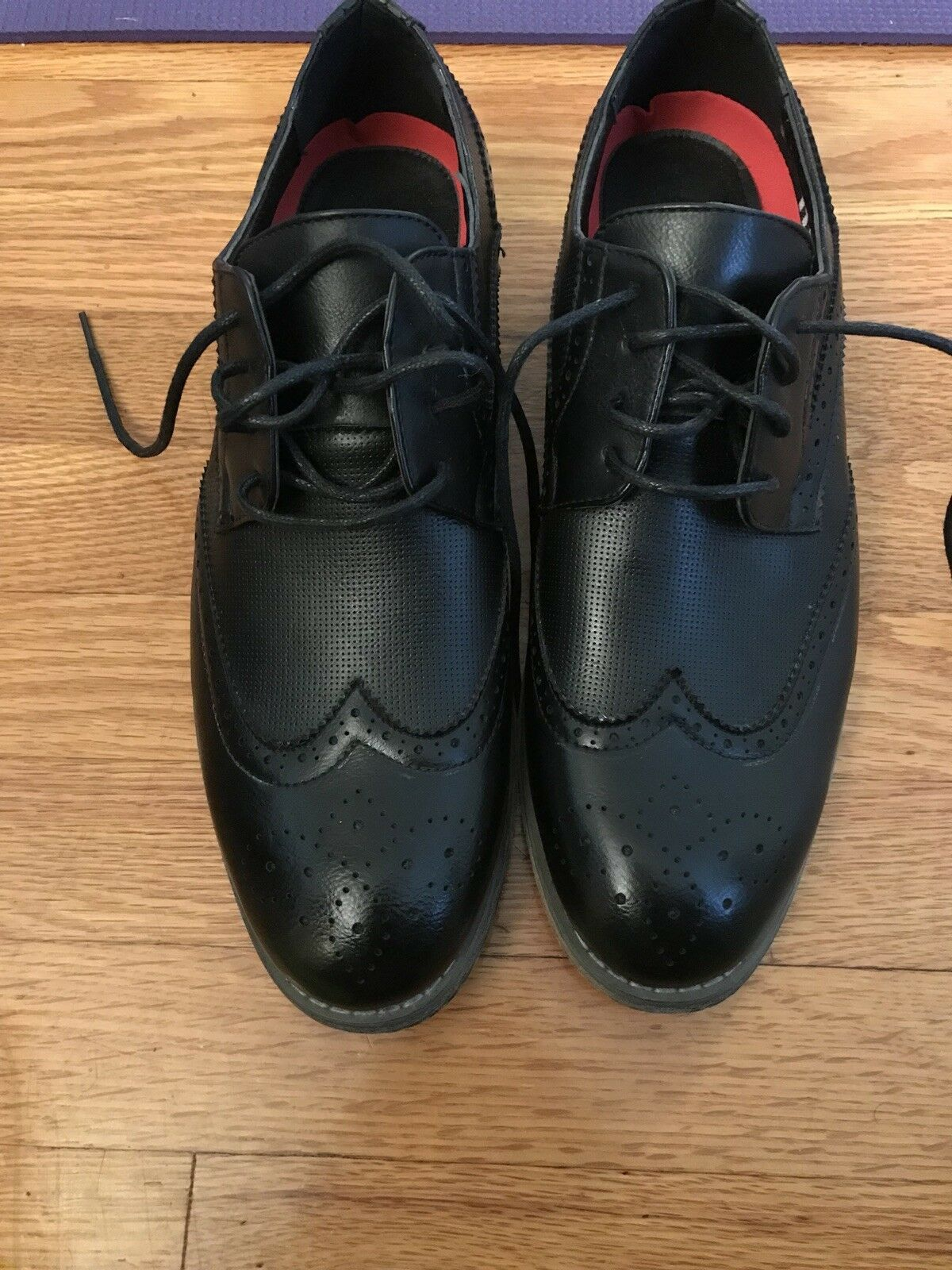 Tony's Casual Black Dress shoes 10