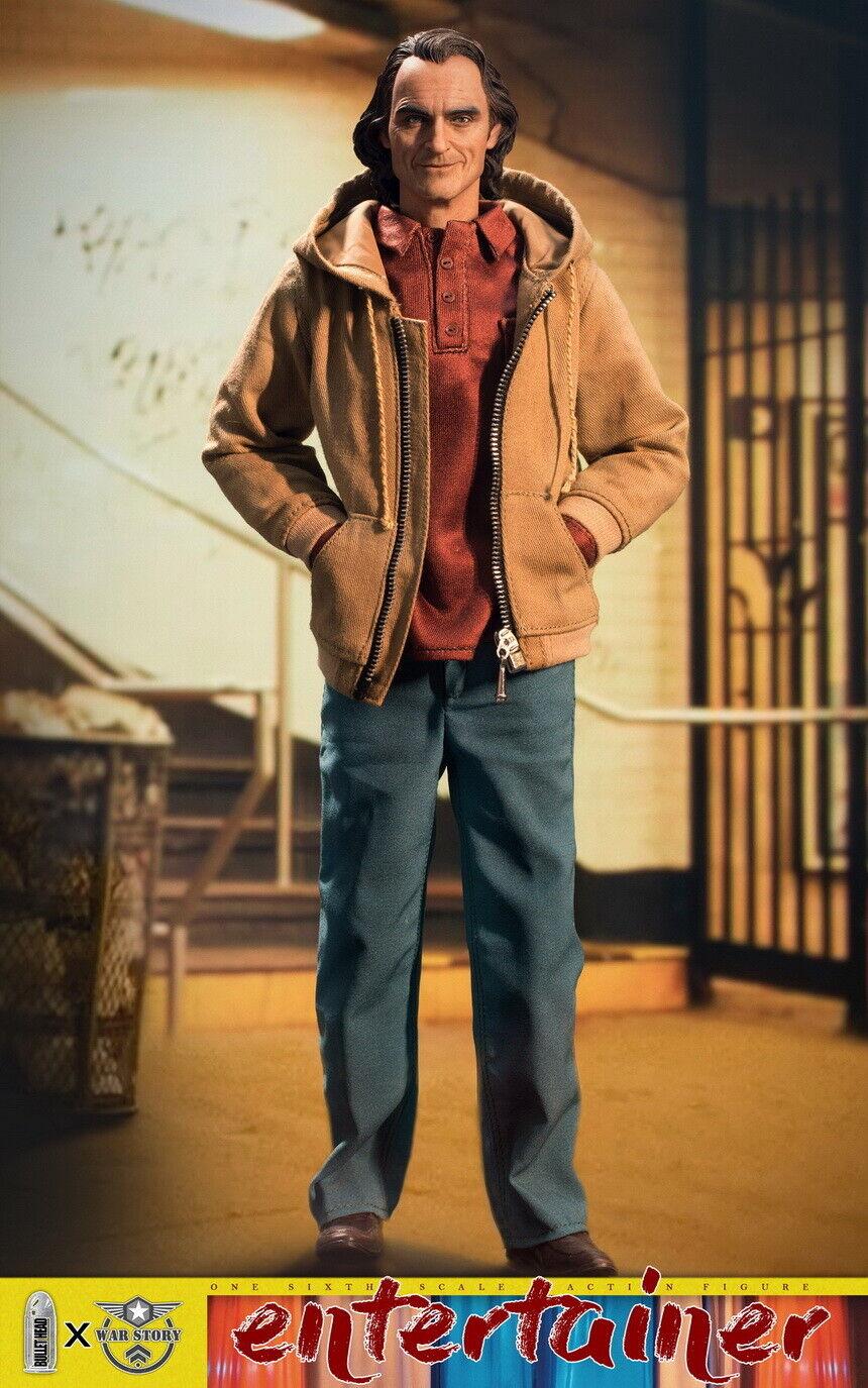 1 6 BH006B Joker Joaquin Phoenix normal ver bala cabeza X WAR historia enfermos mentales