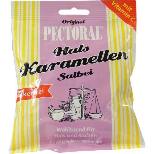 PECTORAL Salbei Bonbons zuckerfrei 60 g