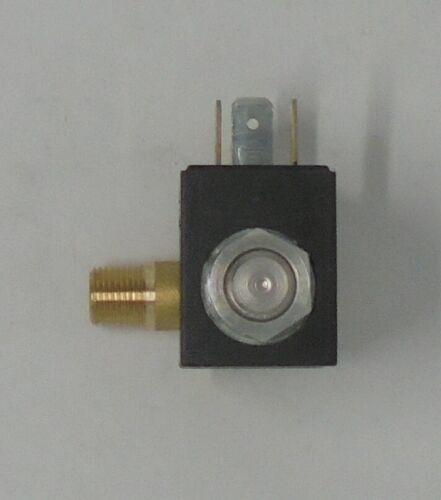 Elettrovalvola con BOBINAper caldaia a vapore ferro da stiro universale 90° SX