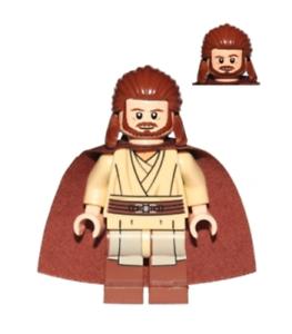Qui-Gon Jinn Qui Gon Star Wars Minifigure US SELLER New