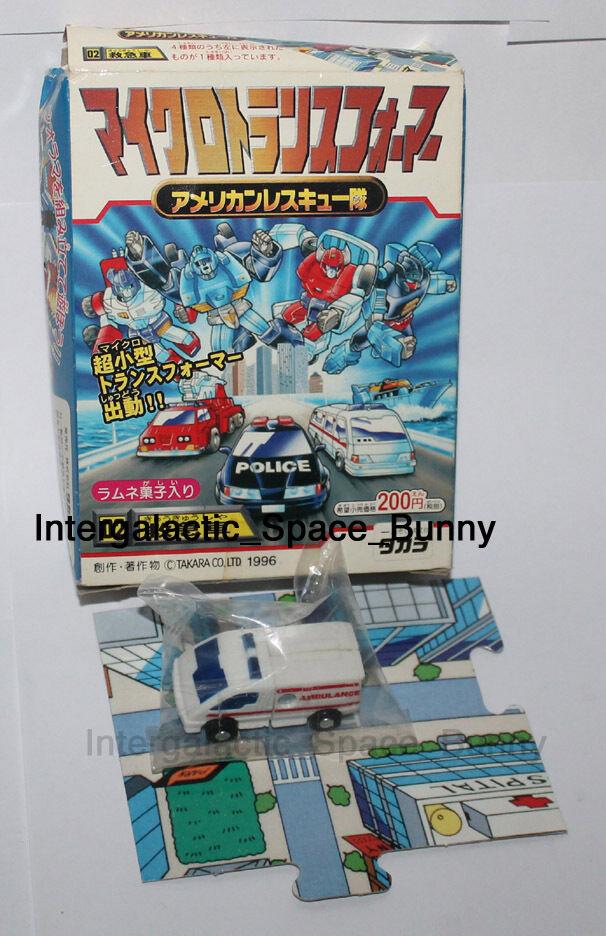 1996 Takara Transformers G1 Micromaster Candy Juguete Japón Placa Base Caja