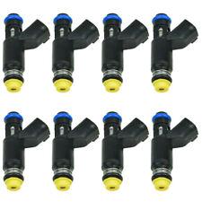 12580426 FJ502 FIT Chevrolet GMC 5.3L 02-07 New 8x Fuel Injectors 25326903