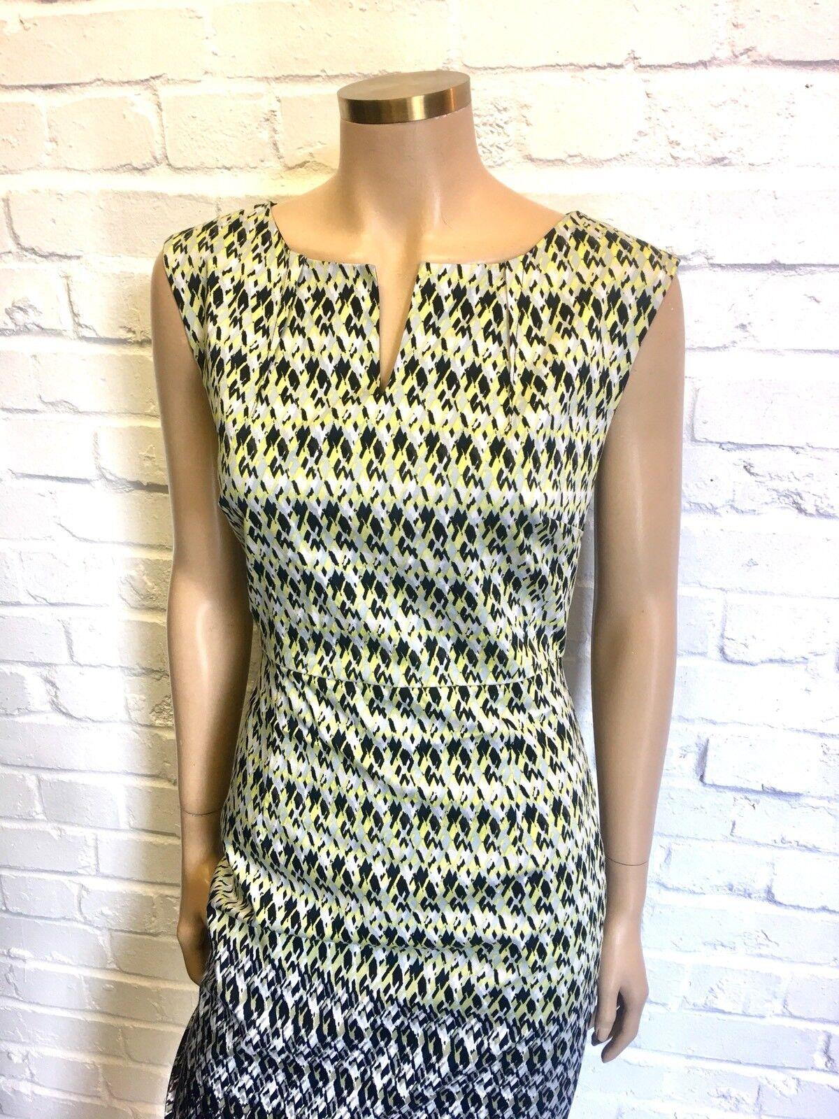 Jacqui-e 100% cotone stampato Shift Shift Shift Dress Rrp  149 69dfaa