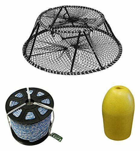 KUFA Sports Vinyl Coated Tower Style Prawn Trap  & Accessories (CT140+FYS400)  online