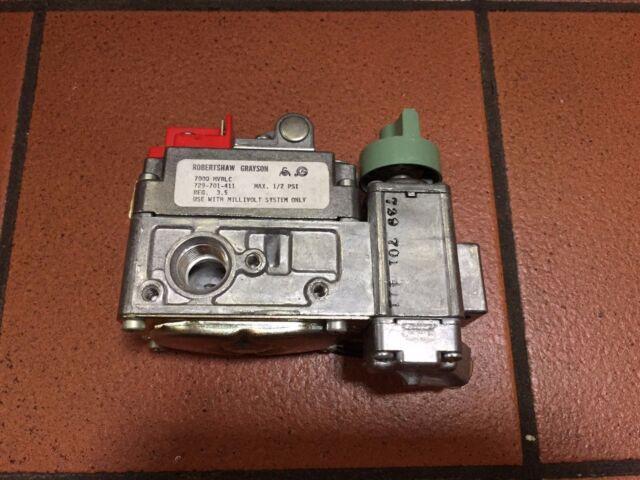 Robertshaw 7000MVRLC Gas Valve 729-701-411