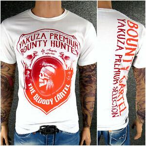 YAKUZA Premium T-Shirt 2610 Schwarz M L XL XXL 3XL 4XL PEACEMAKER Herren NEU