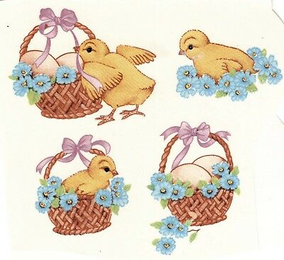 Easter Children Lamb Chick Select-A-Size Waterslide Ceramic Decals Xx