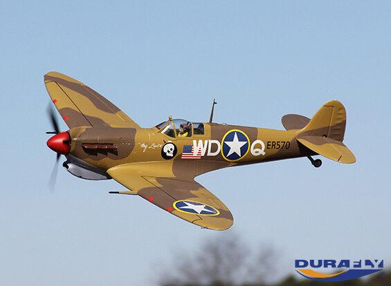 Nouvelle année nouvelle couleur RC RC RC Durafly Spitfire Mk5 1100mm (PnF) Desert Scheme 4636b6