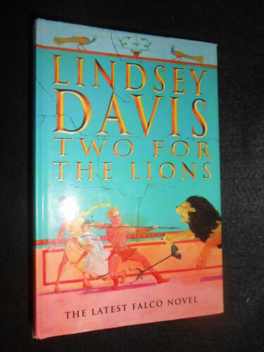 1 of 1 - Two for the Lions - Lindsey Davis, 1998-1st, Falco Roman Crime Thriller Hardback