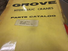 Grove Model TMS375LP Hydraulic Cranes Parts Catalog Manual s/n 22601