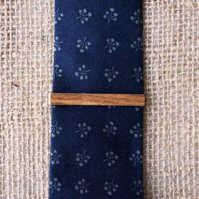 tie bar vintage skinny tie clip tie clasp man tie clip vintage Wooden tie clip