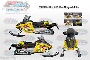 2003-Ski-Doo-Blair-Morgan-800-Rev-7c-Graphics-Reproduction-26-Piece-Vinyl-Decals