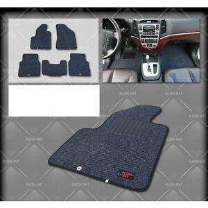 Ruzen Premium Car Mat Carpet Dark Gray Amp Black Line For 06