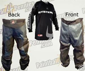 PAINTBALL-PRO-PANTS-AND-JERSEY-COMBO-GRAY-SYSTEM-X