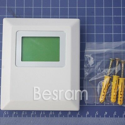 Wall-Mounted AW3010 Voltage Output Temperature And Humidity Sensor  LCD Display