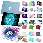 """Fashion Rubberized Hard Case For Macbook Air 11""""Pro 13""""15 Retina +Keyboard Cover"""