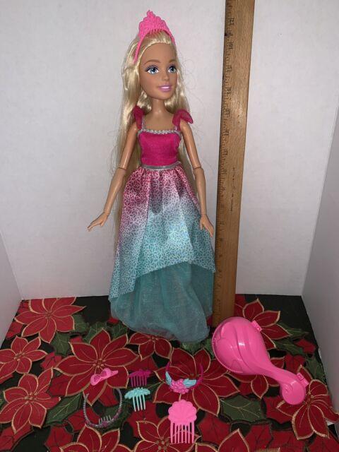 "Blonde *NEW* Barbie Dreamtopia Endless Hair Kingdom 17/"" Doll"