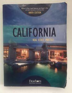 California Real Estate Practice 9th Edition 9781475435757 Ebay