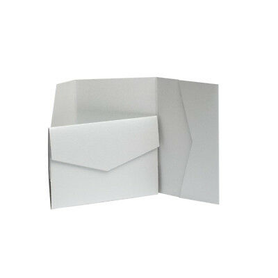 Wedding Wallets Earth Matte Pocket fold Invites Invitation Card Holders.