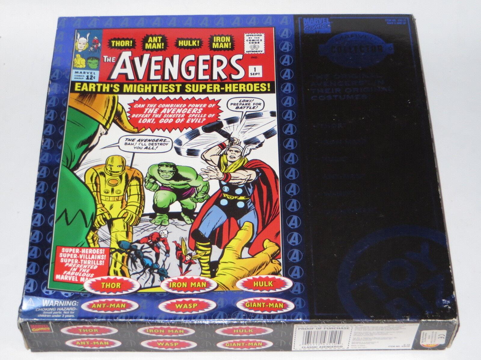 Vintage Toy Biz Los Vengadores Clásico Original Figuras De Acción Conjunto de Comic