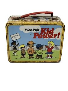 Vintage-1973-Wee-Pals-Lunch-Box-RETRO-COLLECTIBLE