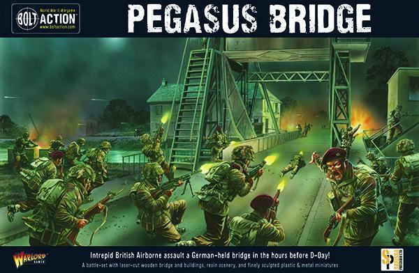 PEGASUS BRIDGE BRIDGE BRIDGE SECOND EDITION - BOLT ACTION - WARLORD GAMES WW2 653627