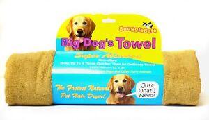 Snugglesafe Micro Fibre Big Dog Serviette Brun 140x76cm (55x30 '') (paquet de 3) 830792006061