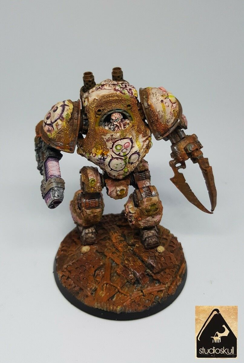 Projoector de la muerte Legión Nurgle contemptor Dreadnought conversión Warhammer 40K - 30K