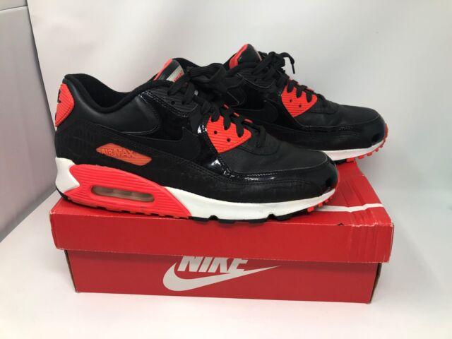 Nike Air Max 90 Anniversary BlackBlack Infrared White 725235006, Size 11 w BOX