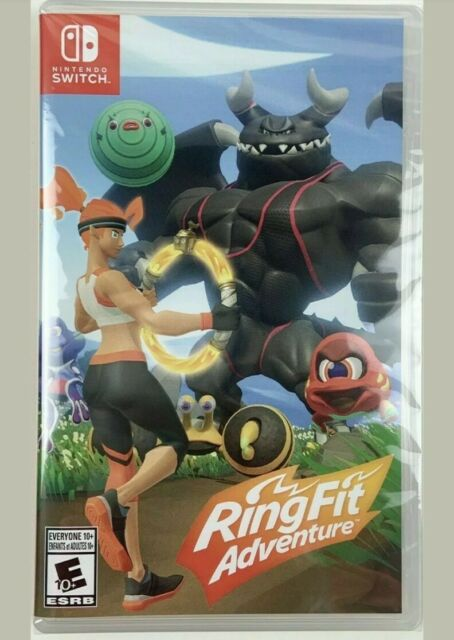 Switch Ring Fit Adventure Game ONLY ( NO Ring-Con or Leg Strap)