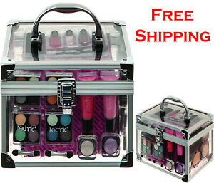 Technic-Cosmetics-Gift-Set-Make-Up-And-Beauty-Carry-Case-For-Ladies-And-Girls