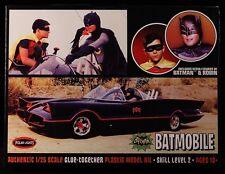 2014 DC 1966 BATMAN ADAM WEST ERA BATMOBILE 1/25 SCALE MODEL KIT MOC
